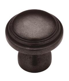 """Round Domed Statuary Bronze Drawer Knob 1-1/4"""""""
