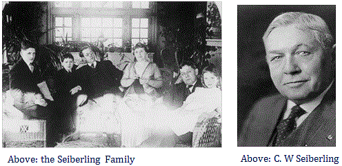Charles Willard Sieberling Family
