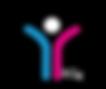 Child logo WHITE KG4 ON BLACK.png