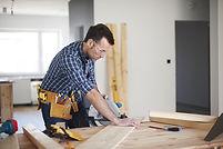 handyman repairing home