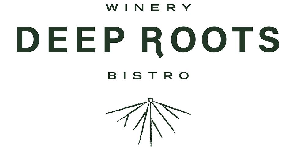 Yoga & Wine @ Deep Roots