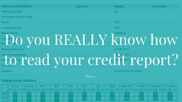 Learn to Read Credit Reports in 30 Minutes!