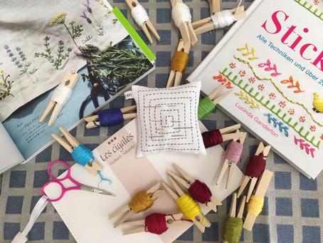 Handstick-Werkstatt zu Hause vom 8. bis 21. Februar 2021