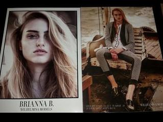 Brianna for Wilhelmina NYC