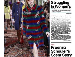 Rhiannon for Gucci, Womens Wear Daily