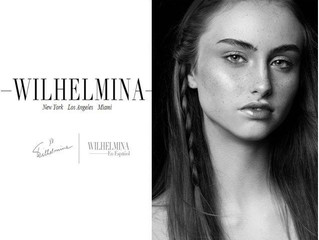 Brianna Signs With Wilhelmina NYC