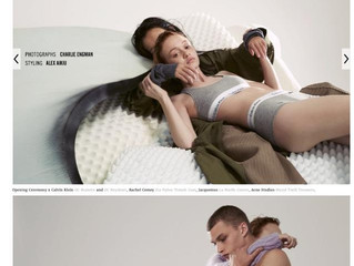 Rhiannon for Calvin Klein