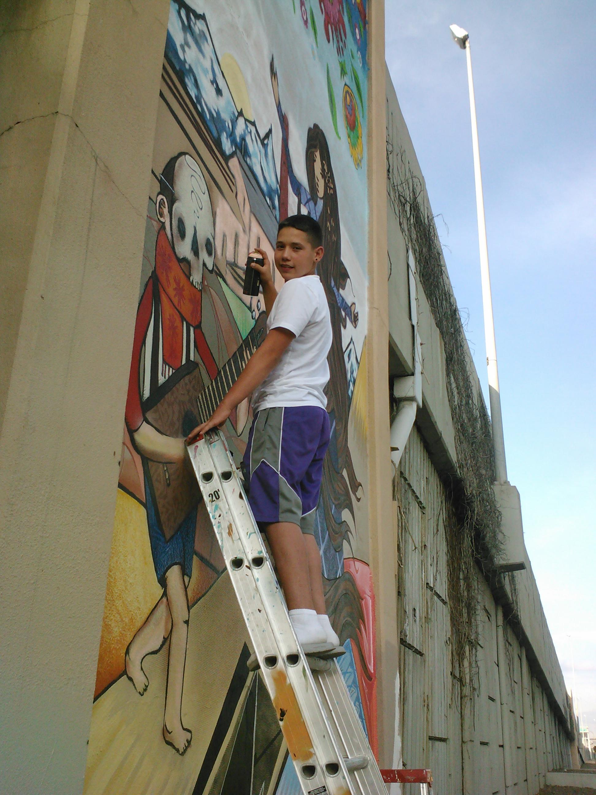 mural volunteer