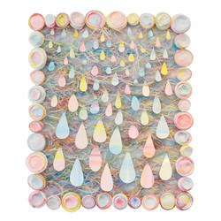 Brent Hayden. Goddamn I Miss The Rain. Polystyrene plastic, acrylic. 18 in x 22 in. 1275