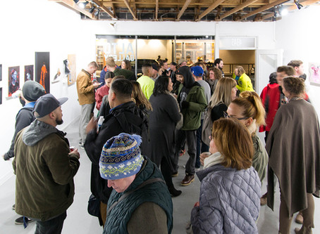 Showed Up Opening Reception