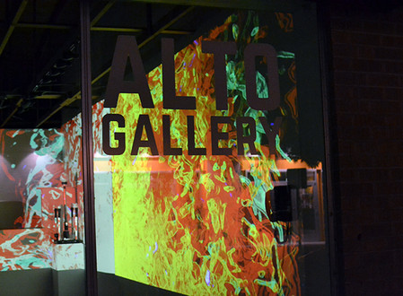 Up In Flames: Orchid Z3ro and Anthony Garcia Fire-themed Video Installation