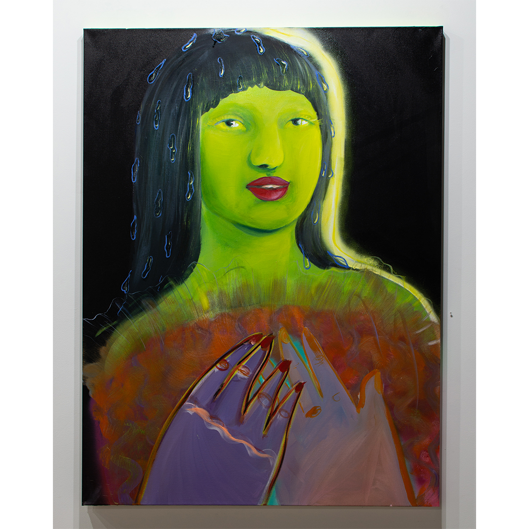 Daphne Sweet. Idol with Wet Hair