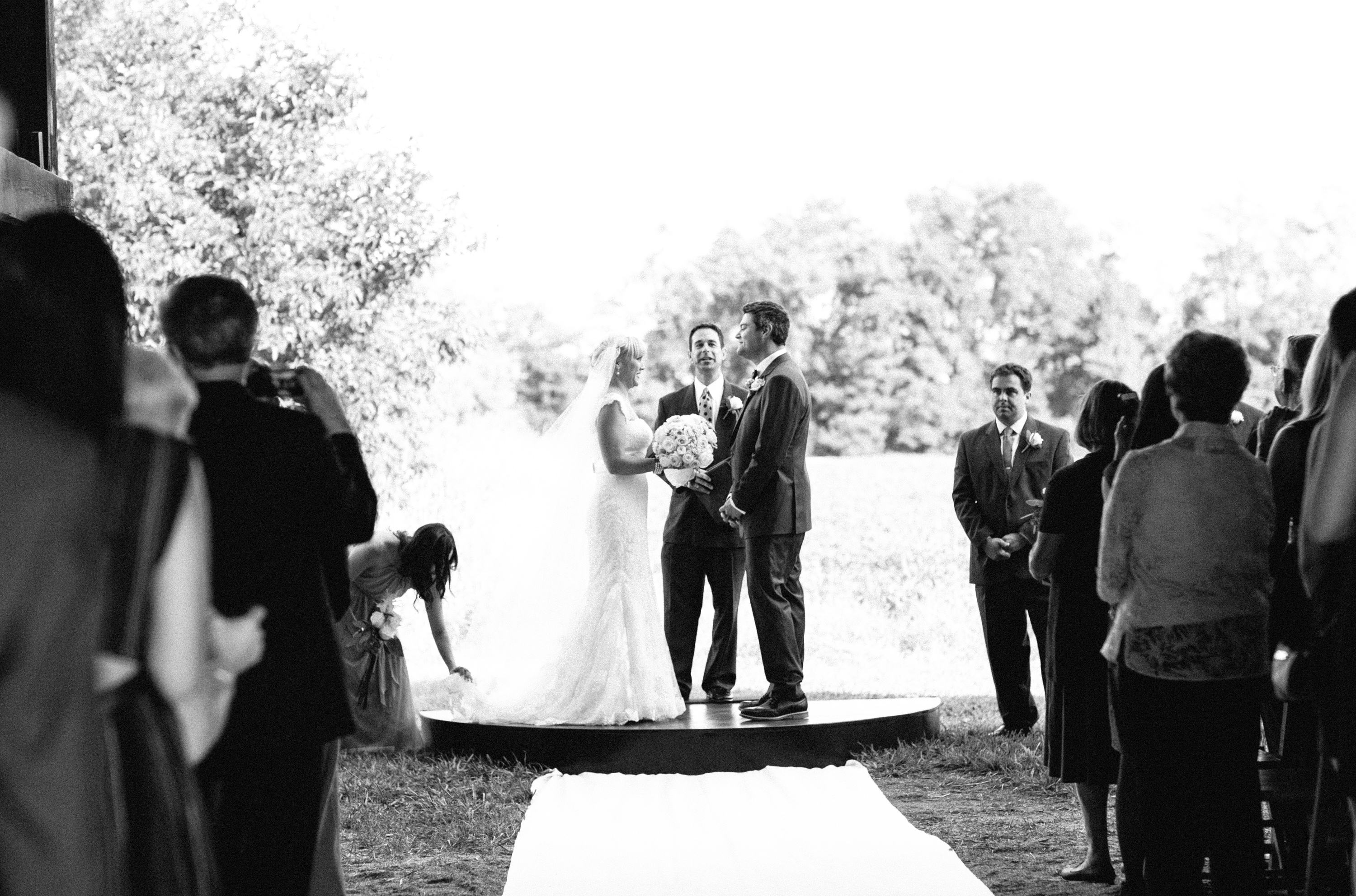 View from Ceremony Barn