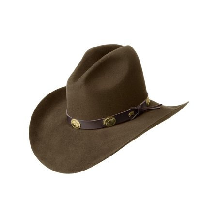 Bailey Cowboy Hat Mens Conchos Wool Gus Crease Tombstone