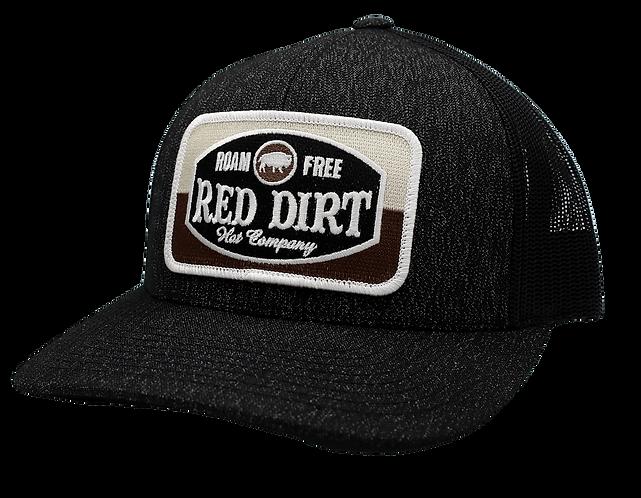 Red Dirt Hat Company Roam Free Hat Black RDHC154