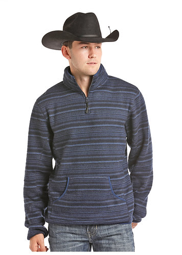 POWDER RIVER OUTFITTERS OMBRE STRIP PULLOVER