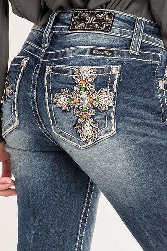Miss Me Star Cross Love Jeans