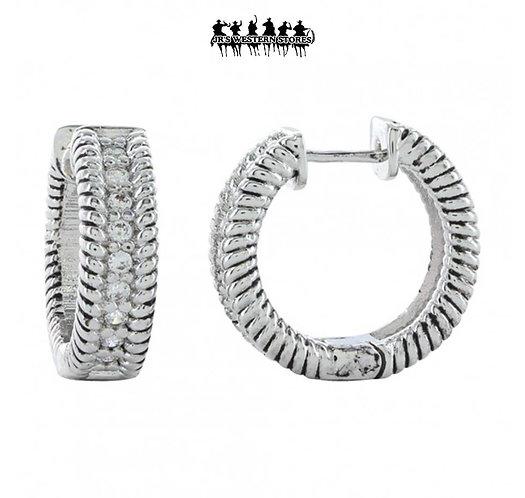 Roped In Brilliance Earrings