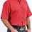 Thumbnail: Cinch Men's Red Diamond Geo Print Short Sleeve Western Shirt