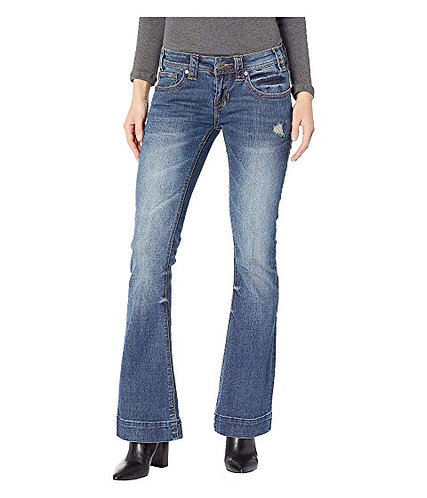 Rock and Roll Cowgirl Medium Vintage Trouser Jeans W8-8732