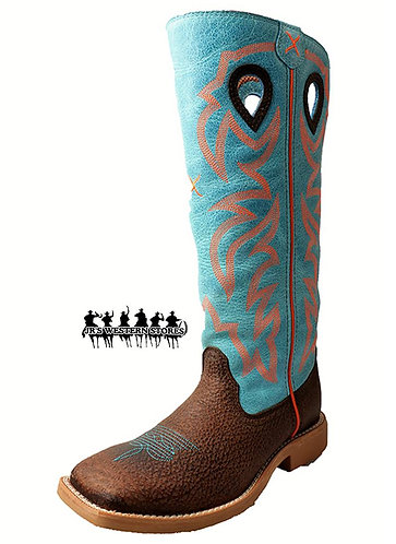 Twisted X Blue Buckaroo Kid's Boot