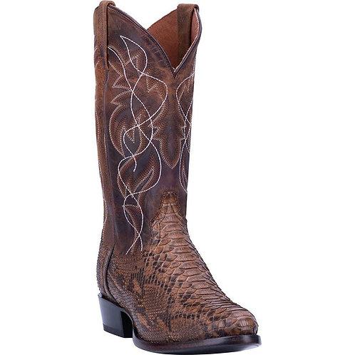 Dan Post Manning Python Snakeskin Boots Handcrafted
