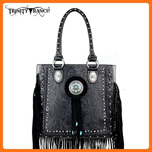 Montana West Trinity Ranch Fringe Design Handbag