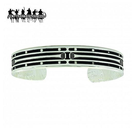 Mirrored Horseshoe Nail Cuff Bracelet