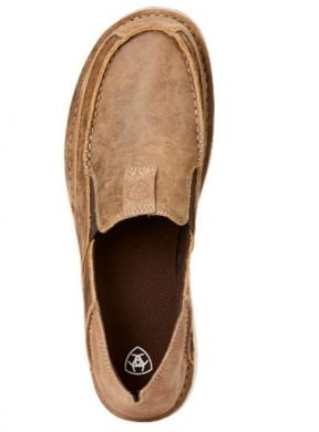 Ariat Men's Cruiser Brown Bomber Relaxed Bark 10023210