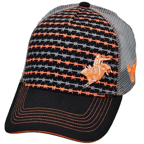 Cowboy Hardware INF/TOD Bull Rider Silhouette Trucker - Velcro