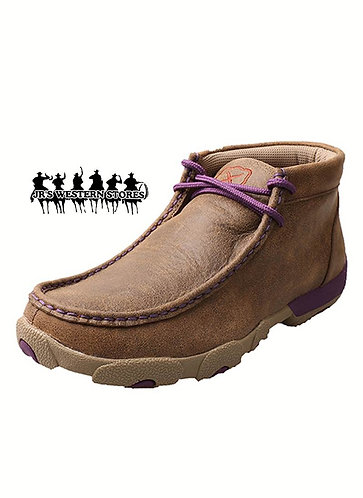 Twisted X Bomber/Purple Driving Mocs