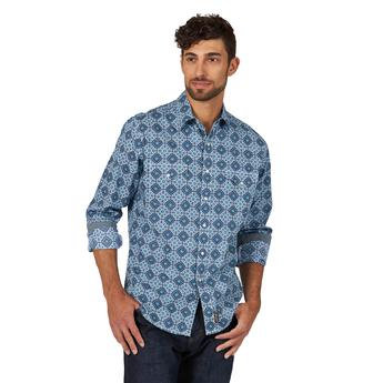 Wrangler Retro® Premium Shirt - MVR461B - Blue