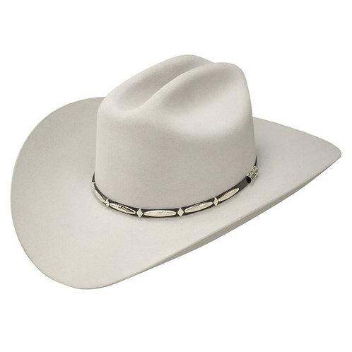 Stetson Del Norte Silver Grey 6X Fur Felt Cowboy Hat