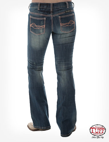 Cowgirl Tuff Citrus Jeans