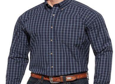 Ariat Men's Dan Plaid Long Sleeve Western Shirt 10013430