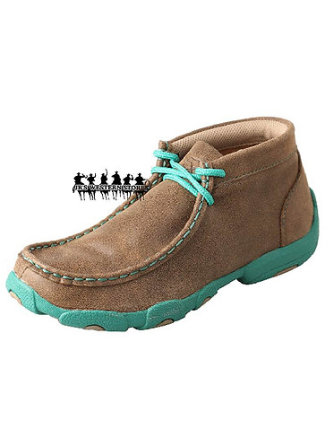 Twisted Bomber/Turquoise Driving Mocs