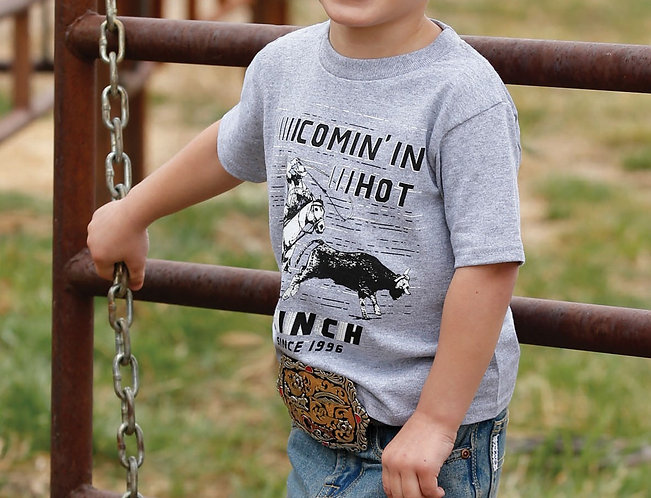 BOYS CINCH COMIN IN HOT TEE