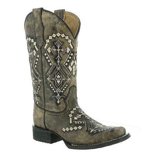 Corral Women's Circle G Embroidery Western Boots