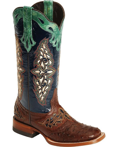 Lucchese Handmade 1883 Amberlyn Full Quill Ostrich Boots