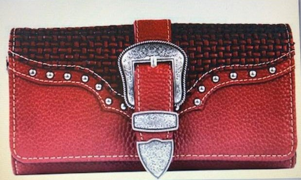 Montana West Buckle Design Collection Wallet