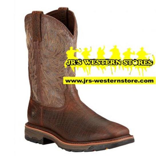 4422341a7ad Ariat Men's Work Hog Croc Print Boot #10017415
