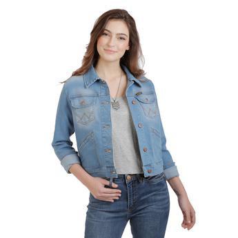 Western Fashion Jacket - LRPJ20L - Bright Blue