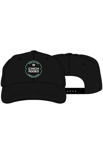 CINCH BOYS BASEBALL CAP 3/21 - BLK