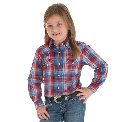 Girls' Western Top