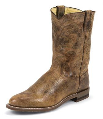 Justin Men's Roper Tan Road Boot - 3630