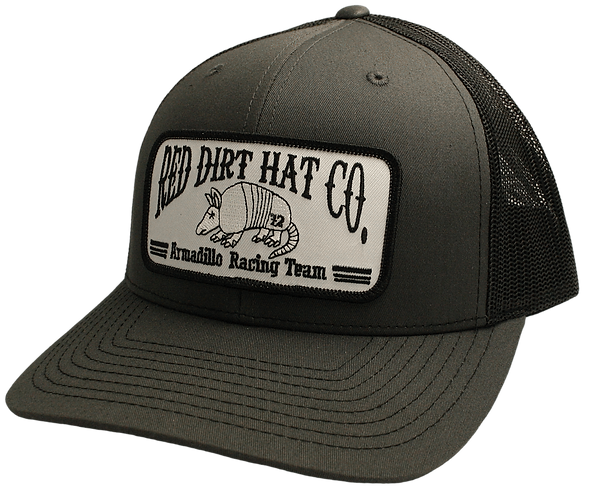 RED DIRT HAT CO. ARMADILLO RACING TEAM PATCH CAP