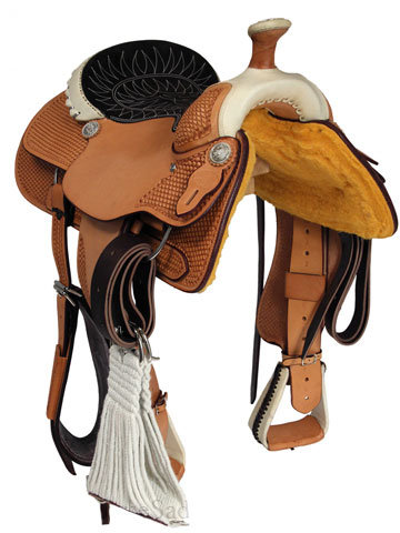 Billy Cook Dally Team Roping Saddle
