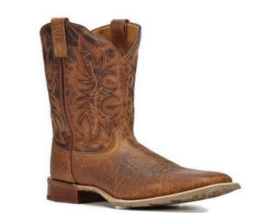 Laredo Men's Rancher Rust Stockman Square Toe Western Boot 7835