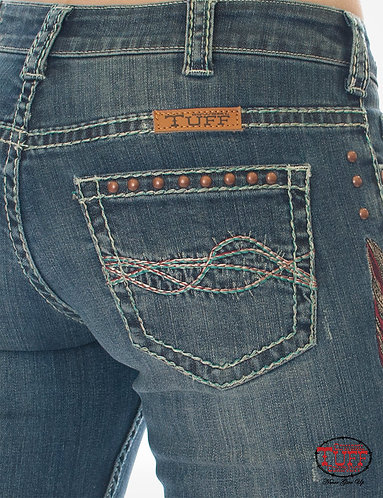 Cowgirl Tuff Brave Wings Jeans