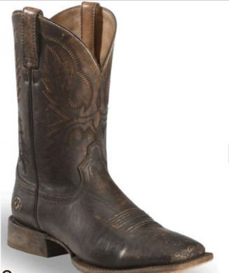 Ariat Men's Distressed Brown Circuit Dayworker Western Boots Square Toe 10023142